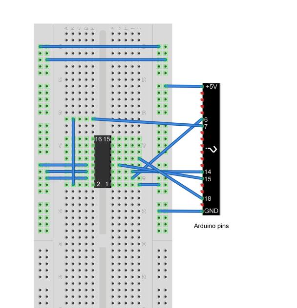 L298 HBridge and arduino wiring
